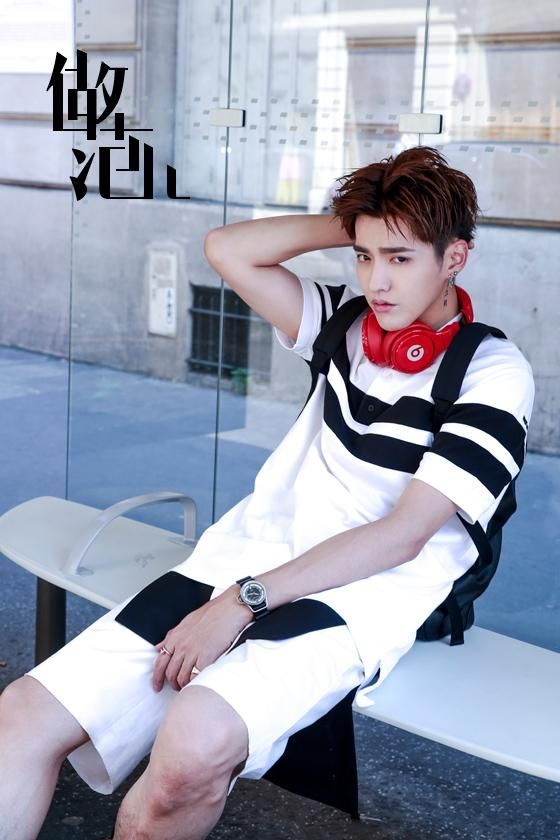 Tencent Fation | KRIS 吴亦凡 (Wu Yi Fan) I'm sorry. I can't handle him like this. too hot too hot too much. mmuuhh ajkflhsfdyoiel