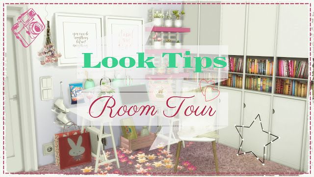 Sims 4 - Look Tips Room Tour