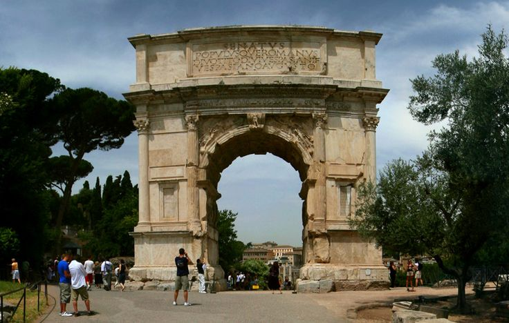 Arch of Titus in Italy
