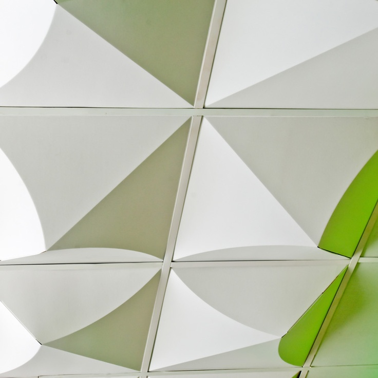 MIO - Bloom Drop Ceiling.. Much cooler than a traditional drop ceiling