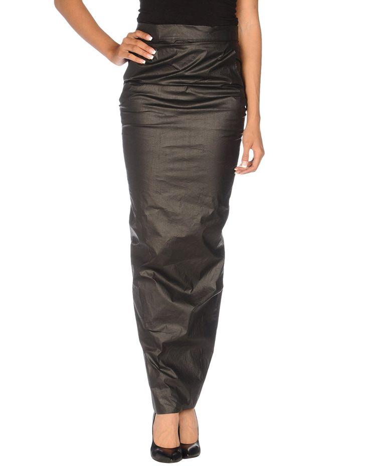 Rick Owens Long Skirt - Women Rick Owens Long Skirts online on YOOX Australia - 35200740NU