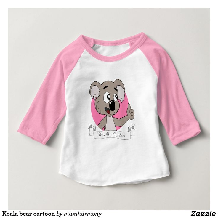 Koala bear cartoon tee shirt