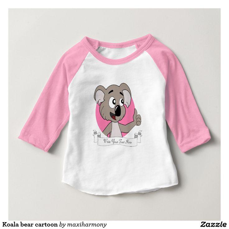 Koala bear cartoon tee shirt
