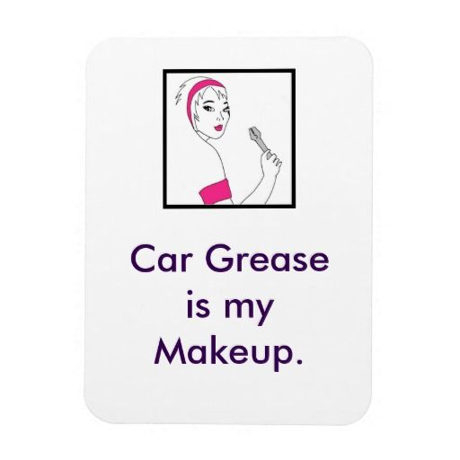 Vehicle Repair Car Grease Rectangular Magnet available here: http://www.zazzle.ca/vehicle_repair_car_grease_rectangular_magnet-160638973198875665?CMPN=addthis&lang=en&rf=238080002099367221 $5.75 #female #mechanic