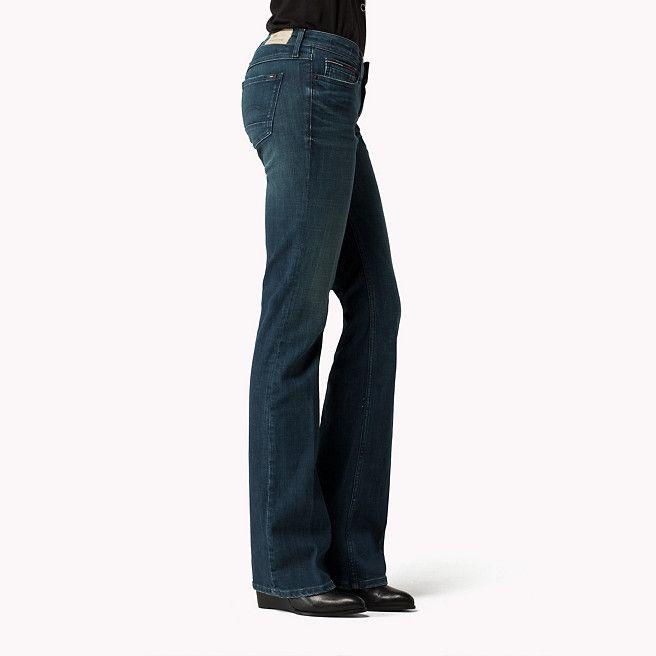 Tommy Hilfiger Sandy Bootcut Jeans - emerald stretch - 99,00