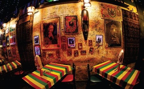 Oscar and Vance's dad owns a Reggae bar in their town called the Blue Mountain Lounge.