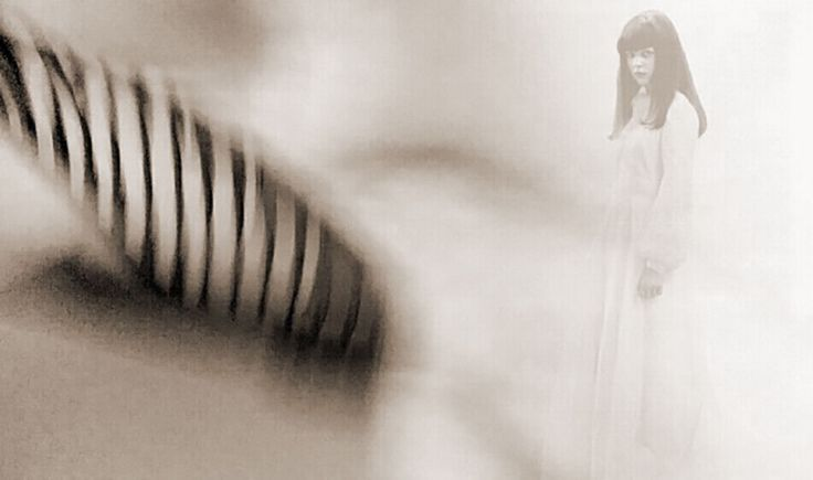 The Ghostly bride apparition keep flowing …
