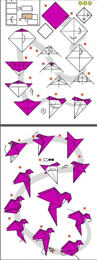 parrot origami animals pinterest origami origami