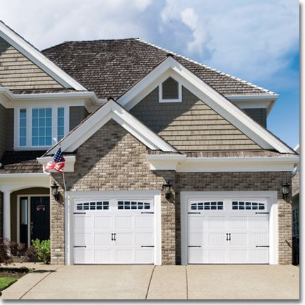 Distinction is just hardware level--Masterpiece has smoother quieter longer lasting. & Best 25+ Raynor garage doors ideas on Pinterest | Sectional garage ...