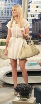 2 Broke Girls - Caroline white dress