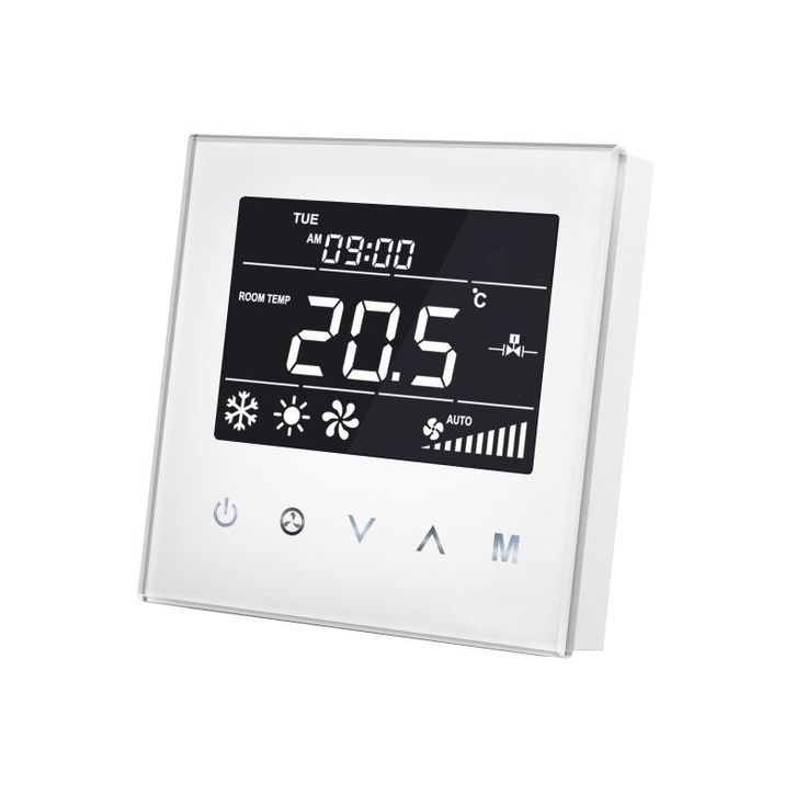 MCOHOME - Thermostat pour ventilo-convecteur 4 tubes Z-Wave+ - Zen et Connecte