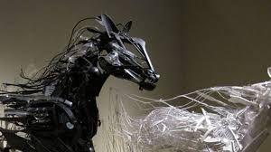 Resultado de imagen para escultura con materiales de desecho