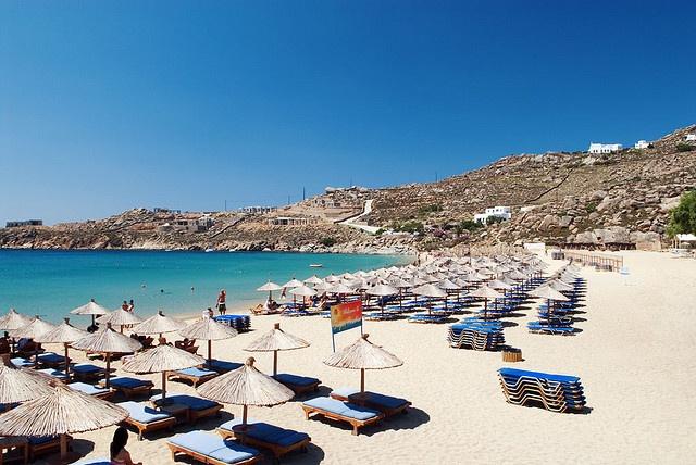 Super Paradise Beach - Mykonos, GreeceMykonos Greece, Favourite Beach, Mykonos Islands,  Seacoast,  Sea-Coast, Paradise Beach, Beach Holiday, Beach Vacations, Paradis Beach Mykonos