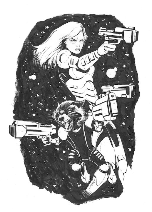Star Lord And Rocket Raccoon By Timothygreenii On Deviantart: 168 Best Images About Comic Art: Guardians Of The Galaxy