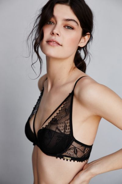 Calvin Klein Provocative Plunge Bra - Urban Outfitters | @andwhatelse