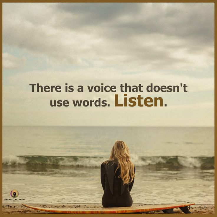 So true. And very people listen in this million people of world.