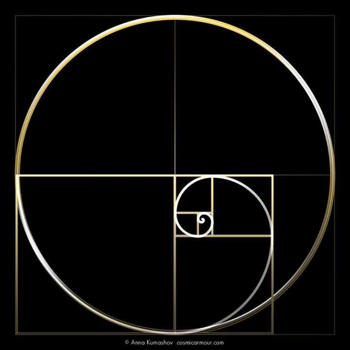 ::::    PINTEREST.COM christiancross    :::: ☽ ☼☾ +++ ULTRAVIOLET RAYS IN YOUR EYESGolden ratio