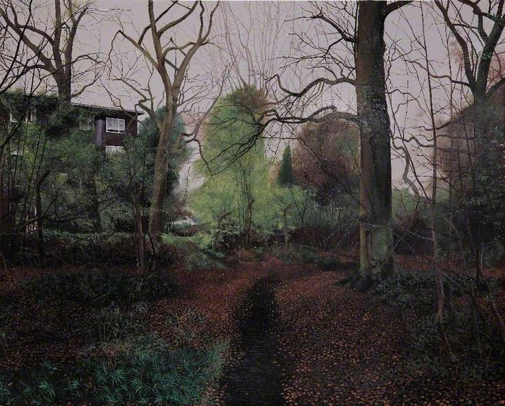 arcadiainteriorana:  Scenes from the Passion: The Path to Pepys CornerGeorge Shaw (b.1966) Humbrol enamel on board, 43 x 53cm, 2001.Worcest...