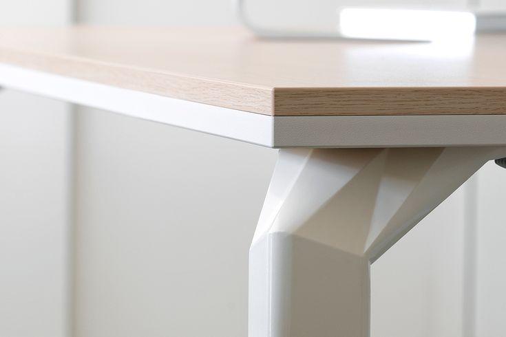 Haworth Epure. Een ruime collectie tafels dat bestaat uit bureaus, vergadertafels en conferentietafels. http://www.deprojectinrichter.com/haworth/