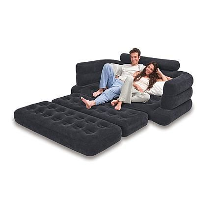 tasty sleeper sofa with air mattress. Intex Inflatable Pull out Sofa Queen Bed Mattress Sleeper 733 best Air Lounges Collections images on Pinterest  Nature