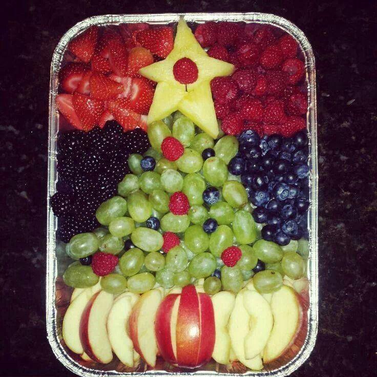 fruit cake christmas fruit salad