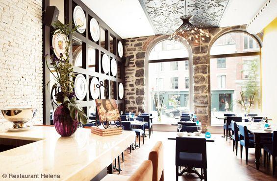 Restaurant Helena - Old Montreal