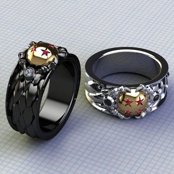 These Dragon Ball Rings Will Make You Wish For More Money