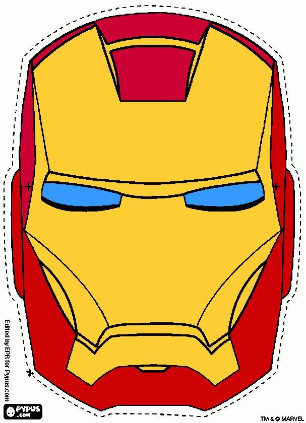 Resultado de imagen para mascaras de avengers para imprimir