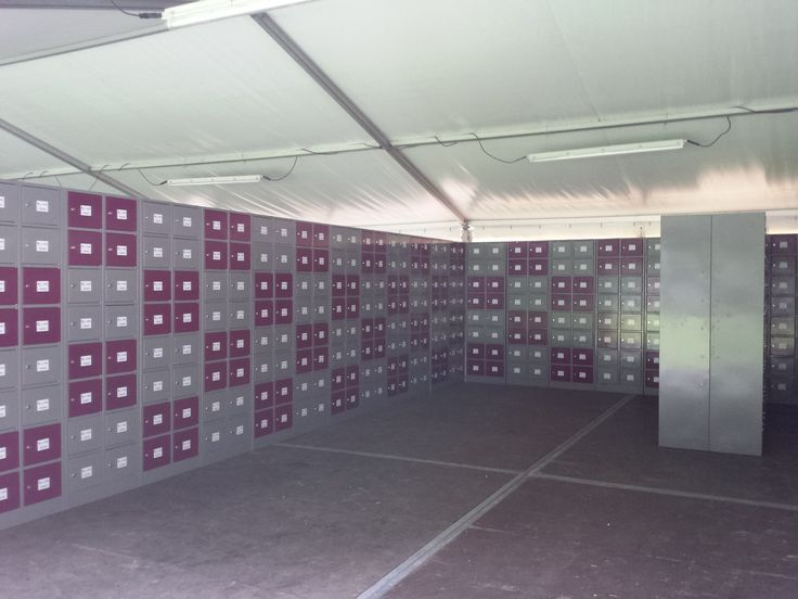 Back 2 the 90's 2014 - Eventsafe lockers