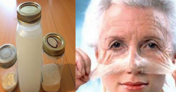 Anti-Aging Creme zum selber herstellen.