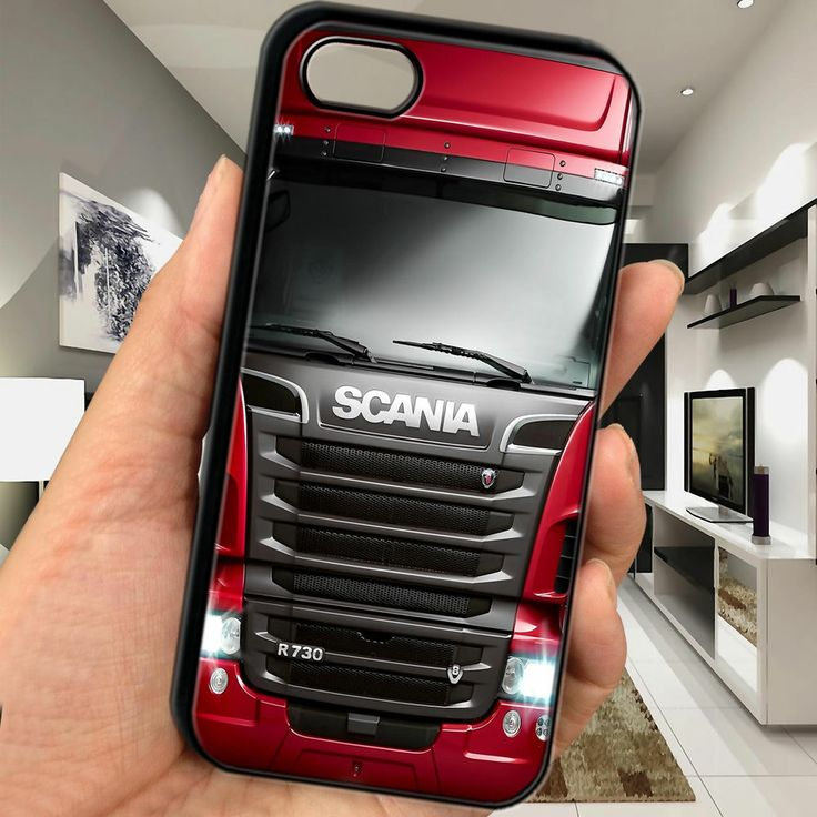 cheap Scania R730 Truck heavy duty iphone 5 5s TPU case cover gift