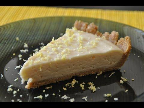 Pie de limón o tarta de limón