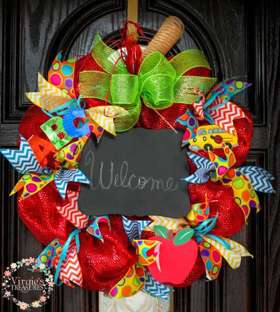 Classroom Wreath Ideas : Best classroom wreath ideas on pinterest school