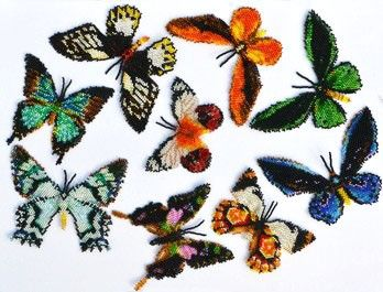 Instant download! 9 Australian Butterflies Pattern