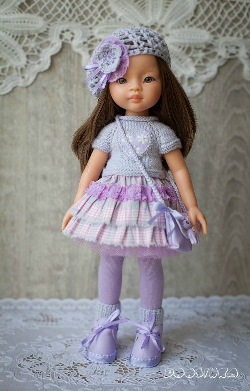 Сиреневый топик / Одежда и обувь для кукол своими руками / Бэйбики. Куклы фото. Одежда для кукол