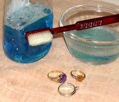 recipe for cleaning jewelry