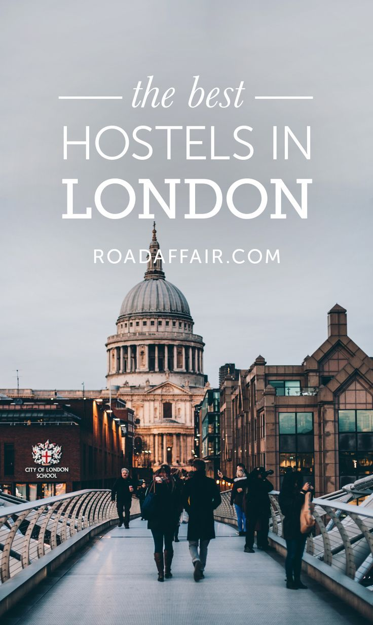 Traveling on a budget? Check out our list of the best hostels in London!