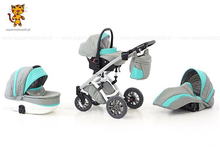 Wózek dziecięcy 3w1 Naxter - gondola, spacerówka, fotelik samochodowy.  http://supermaluszek.pl/NaXter_3w1_wozek_dzieciecy  #supermaluszek #wózekdziecięcy #naxter