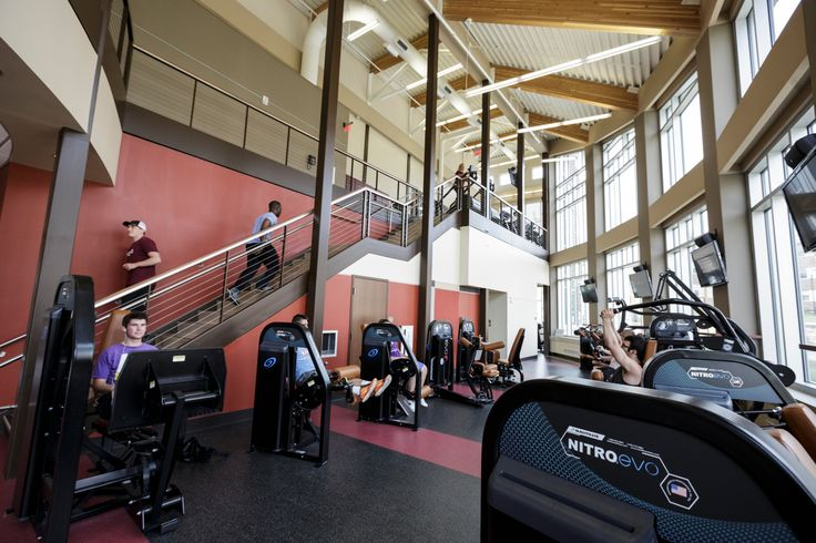 #Alvernia's Campus Commons boasts a two-story fitness center and dance and aerobics studio. A perfect way for students to stay #healthy and #active!