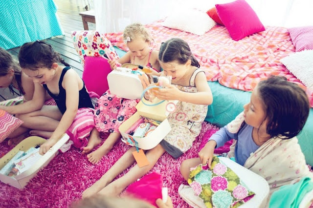 Night Owl Sleepover Birthday Party - Kara's Party Ideas - The Place for All Things Party