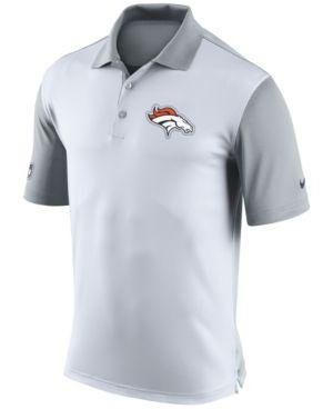 Nike Men's Denver Broncos Preseason Polo - White S