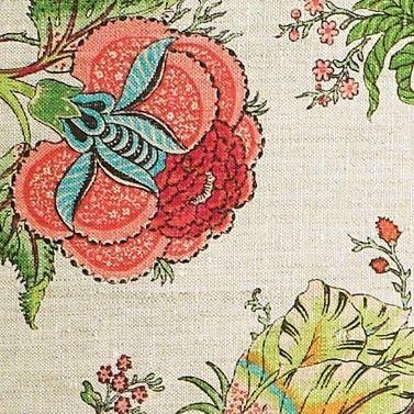 Gypsy Floral Fabric - Jade