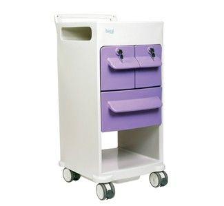 Affiniti moulded anti-bacterial locker | Teal