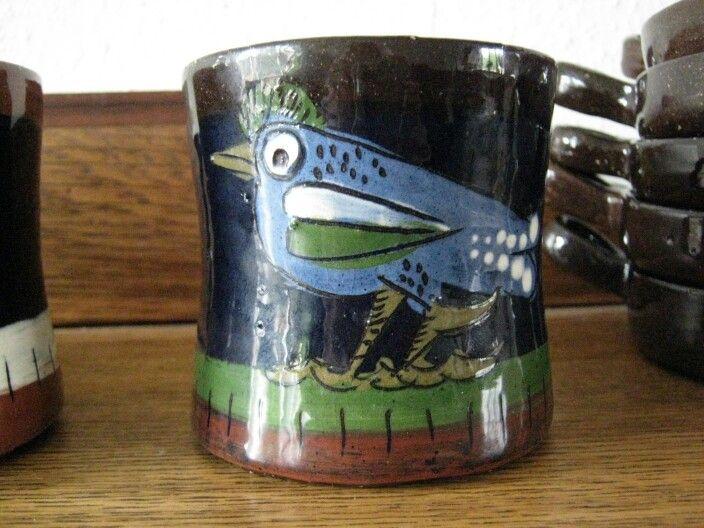 Mug Bird by Rolf Hansen Kongsberg Norway
