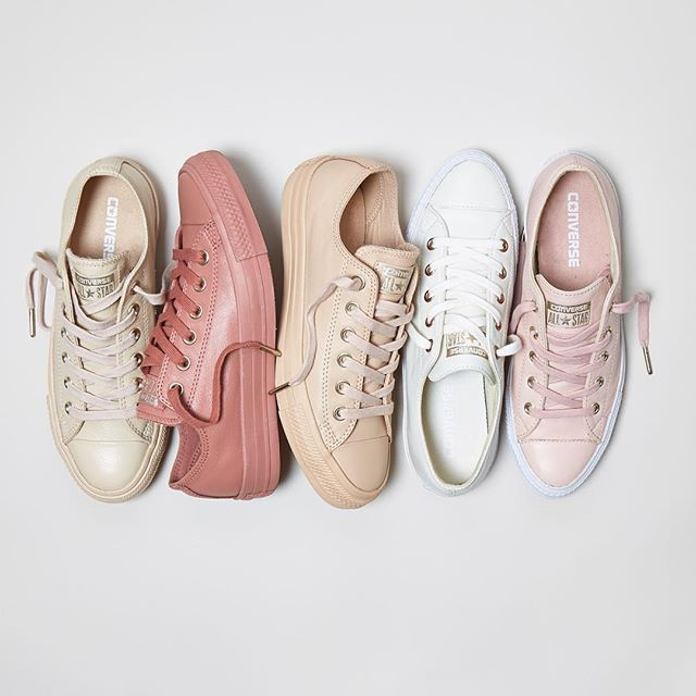 Pick a favourite from our @converse holiday nude collection and #Shop our #exclusive range straight from our bio. #newin #converse #meandmygirls