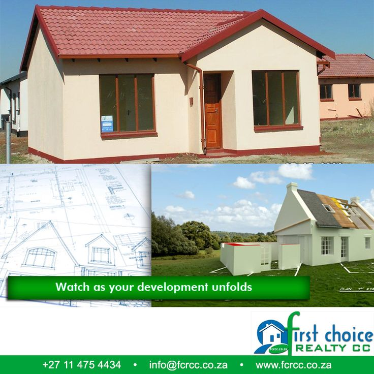 Affordable development by First Choice Realty in #Vanderbijlpark. Looking to buy a new architecturally designed and inspired house? Well look no further! Visit our website: http://besociable.link/4g #property #affordablehousing #FCRCC