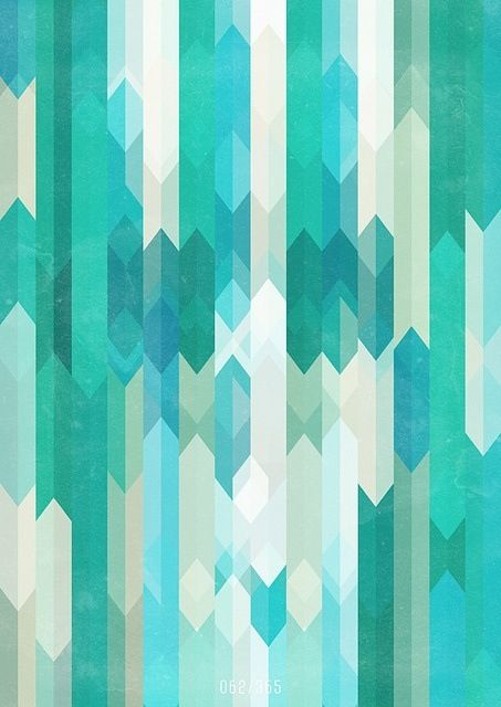 cool colors geometric pattern cool art pinterest