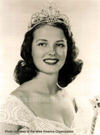 miss america winners | Miss America Pageant winner in 1953, Neva Langley, Miss Georgia ...