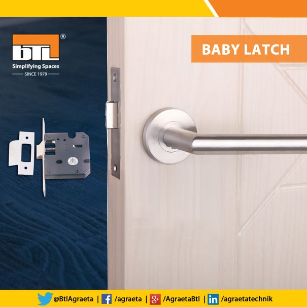 Safety first with BTLu0027s Baby Latch used for Bathroom Doors Bedroom Doors etc. Click & 55 best BTL Hardware Products images on Pinterest | Hardware ... pezcame.com