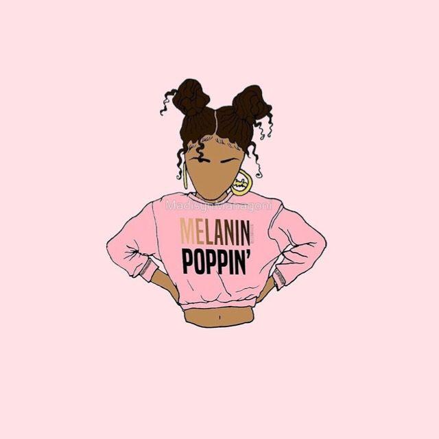 Pin by ᗩɑℓıyɑɧ ᗯıɢɢıиʂ👑 on Wallpapers | Art, Drawings of black girls, Art, craft videos